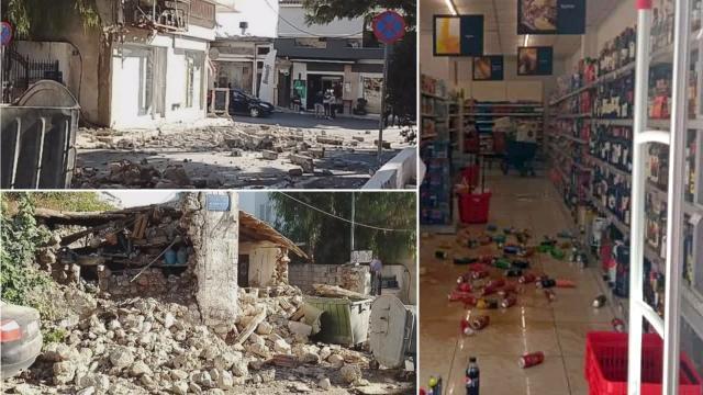 Ege'de deprem: Çöken binalarda mahsur kalanlar var