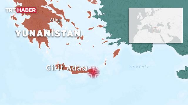 Yunanistan'da korkutan deprem: Ege kıyıları da sallandı
