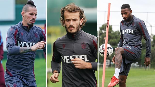 Trabzonspor'da sakat oyuncular can sıkıyor