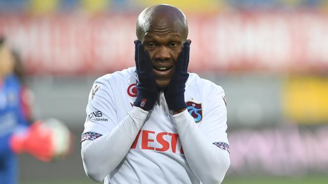 Trabzonspor'a bir şokta Nwakaeme'den