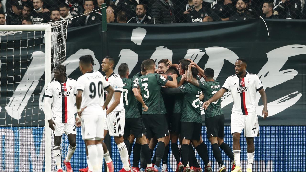 Beşiktaş, Şampiyonlar Ligi'nde galibiyete hasret!