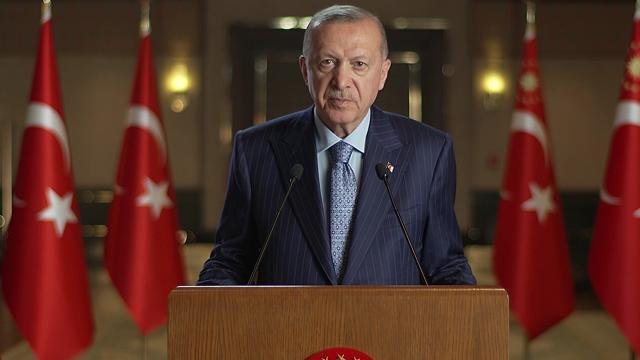 """Cumhurbaşkanı Erdoğan'dan """"29 Ekim"""" mesajı"""