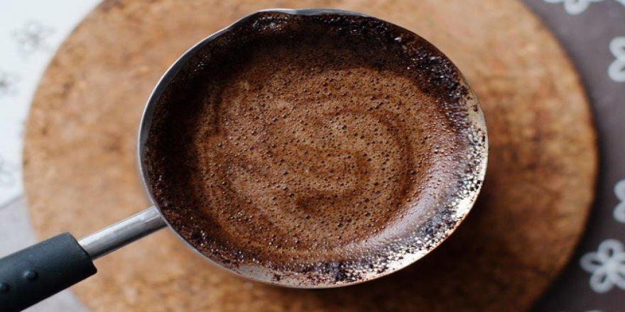 Düz bir karın için Türk kahvesi