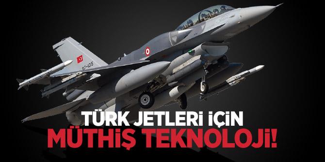 Türk jetleri için müthiş teknoloji!