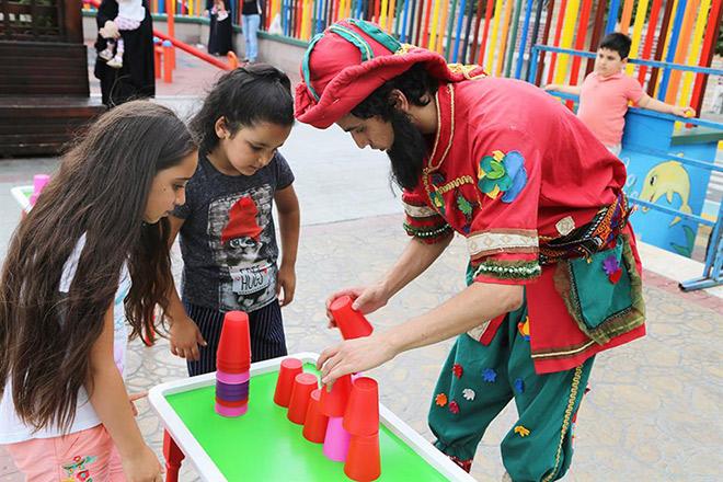 Esenler Belediyesi geleneksel çocuk oyunlarını yaşatıyor