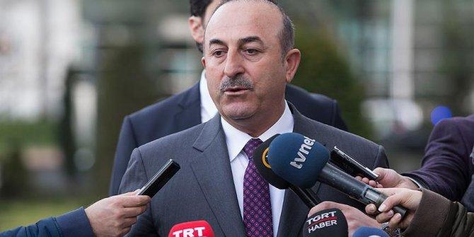 Dışişleri Bakanı Çavuşoğlu'ndan kritik Menbiç açıklaması