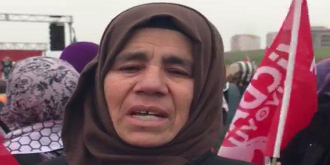 Suriyeli Oruç hanım ülkesindeki zulmü anlattı
