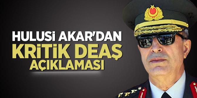 Hulusi Akar'dan kritik DEAŞ açıklaması