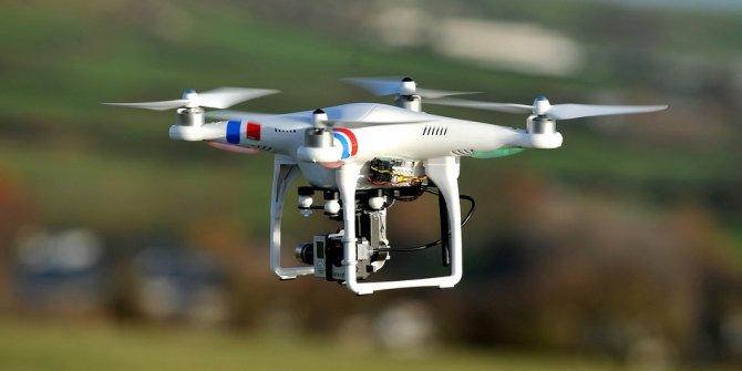 """Uyuşturucu satıcılarına """"drone"""" destekli darbe"""
