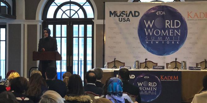 MUSİAD AMERİKA ve KADEM ortaklığı ile Dünya Kadın Zirvesi gerçekleşti