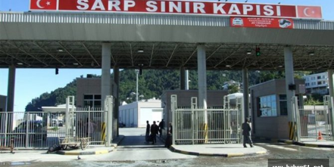 Sarp Sınır Kapısı geçici olarak kapatılacak