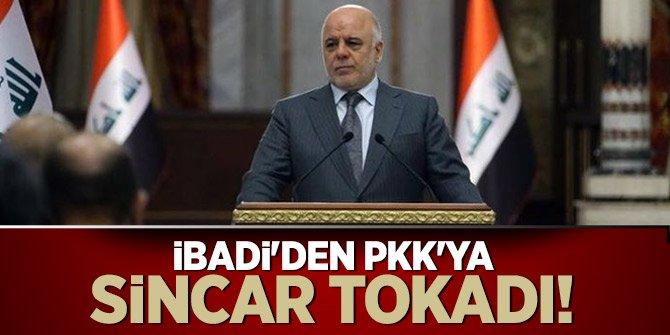 İbadi'den PKK'ya Sincar tokadı!