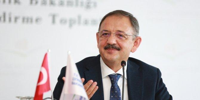 Bakan Özhaseki oyunu Kayseri'de kullandı