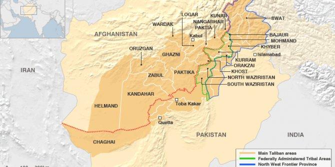Afganistan-Pakistan sınırında çatışma