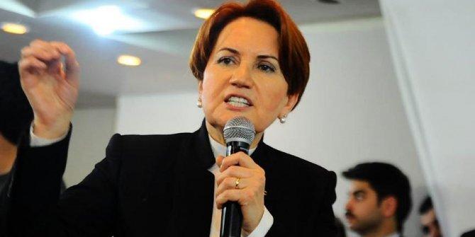 MHP'den İYİ Parti Genel Başkanı Akşener'e suç duyurusu