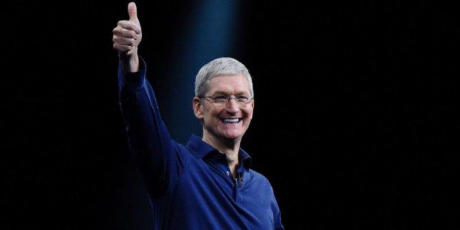 Apple CEO'sundan Türk bayraklı 23 Nisan paylaşımı
