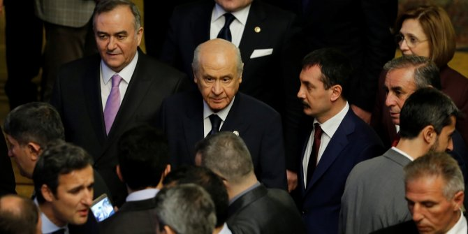 Bahçeli'den dört parti ittifakı için açıklama!
