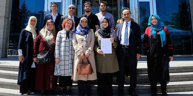 Liseli gençlerden AK Parti'ye 'aday adaylığı' başvurusu