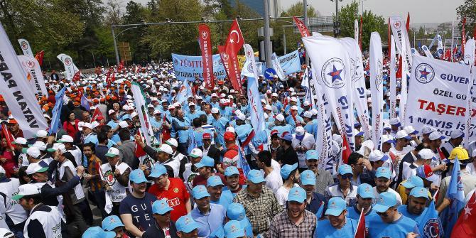 Ankara'da 1 Mayıs çoşkuyla kutlanıyor
