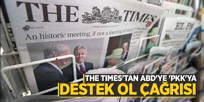 The Times'tan ABD'ye 'PKK'ya destek ol çağrısı