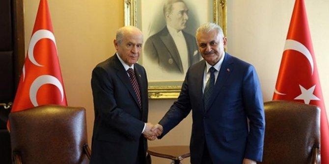 Erdoğan'ın YSK başvurusunu Yıldırım ve Bahçeli yapacak