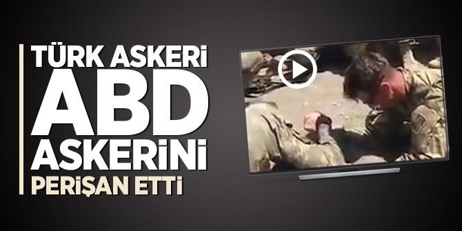 Türk askeri, ABD askerini perişan etti