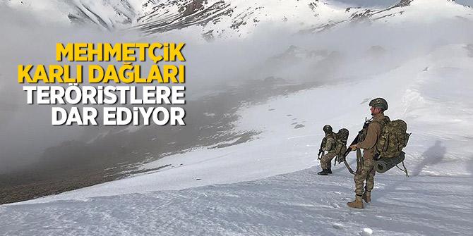 Mehmetçik karlı dağları teröristlere dar ediyor