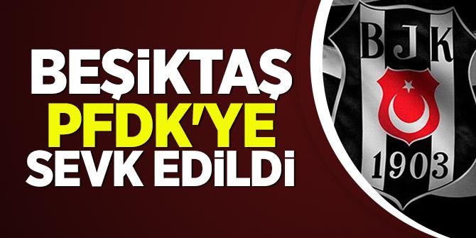 Fenerbahçe maçına çıkmayan Beşiktaş, PFDK'ye sevk edildi!