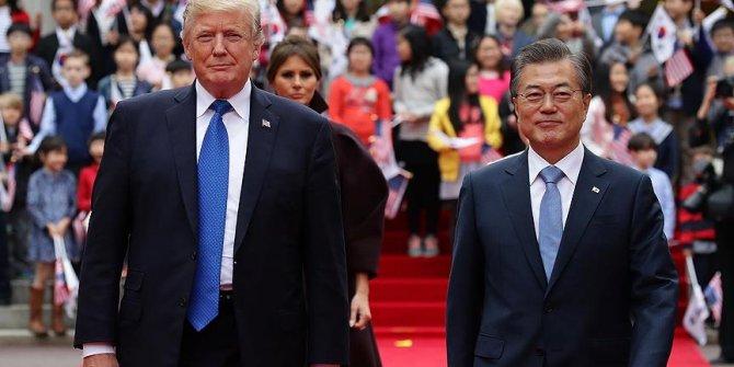 Moon ile Trump Beyaz Saray'da görüşecek