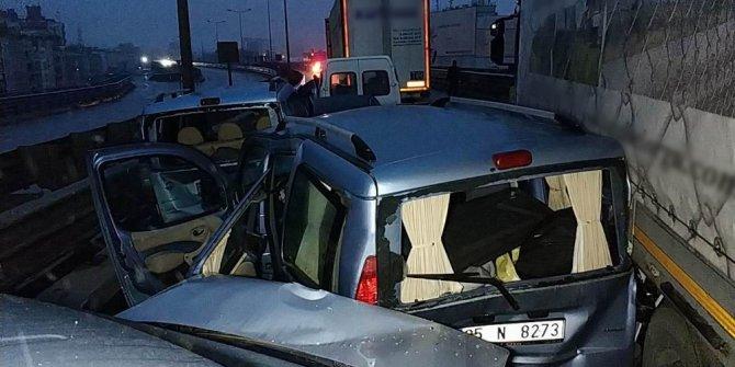 Samsun'da zincerleme felaket:15 yaralı