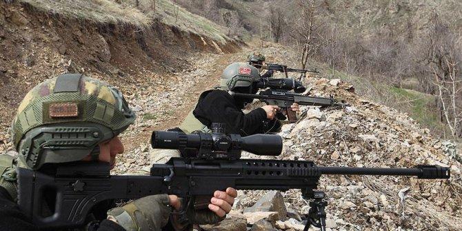 PKK'ya ağır darbe!14 terörist..