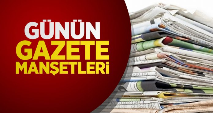 Cumhurbaşkanı Erdoğan'ın açıkladığı seçim manifestosu gazete manşetlerinde