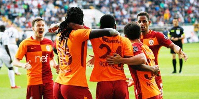 Galatasaray evinde zorlanmadı şampiyonluğa 1 kaldı