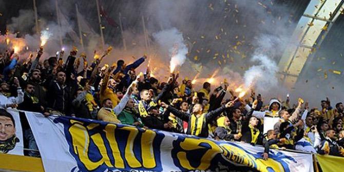 Spor Toto Süper Lig'e çıkan MKE Ankaragücü kupasını aldı