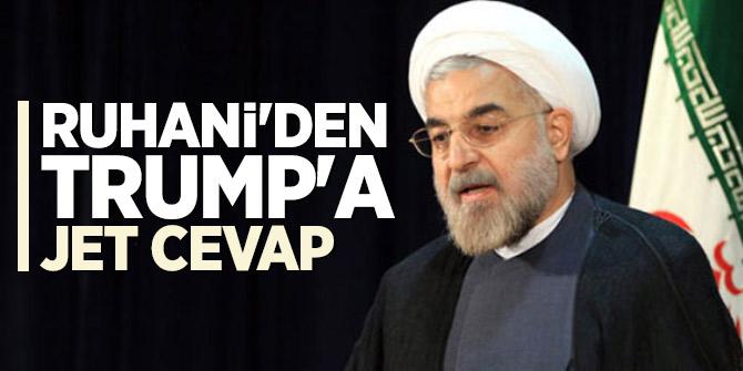Ruhani'den Trump'a jet cevap: ABD ne gibi delilleri olduğunu göstermeli