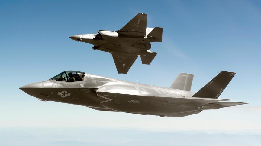 Tarih netleşti! F-35 Türkiye'ye geliyor