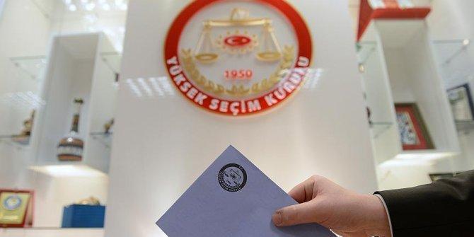 Cumhurbaşkanı seçimi geçici aday listesi yayımlandı