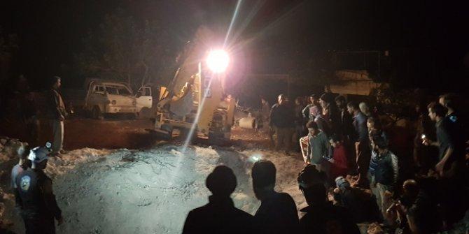 İdlib'e hava saldırısında 8 sivil daha vuruldu