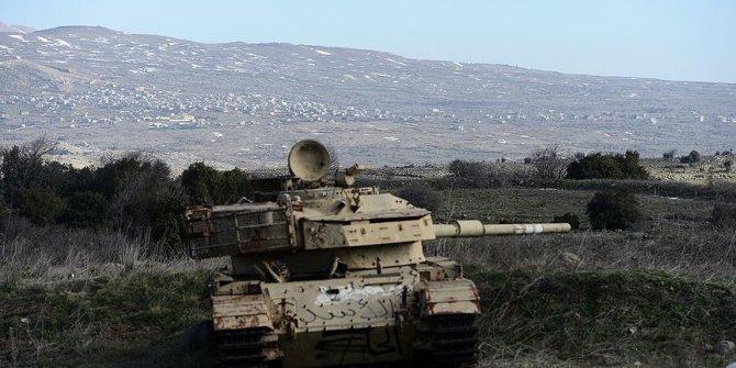 İsrail Suriye'nin güneyine saldırdı