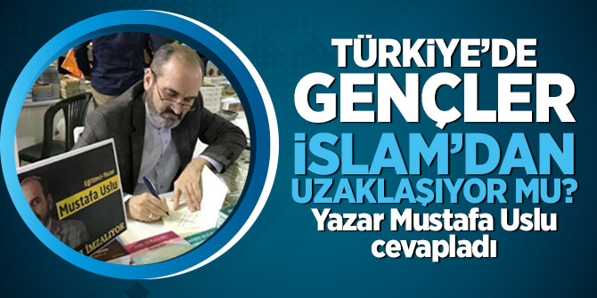 Türkiye'de gençler İslam'dan uzaklaşıyor mu? Yazar Mustafa Uslu cevapladı