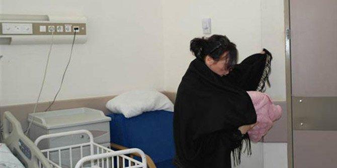 Hastaneden bebek kaçırıldı! Polis takipte