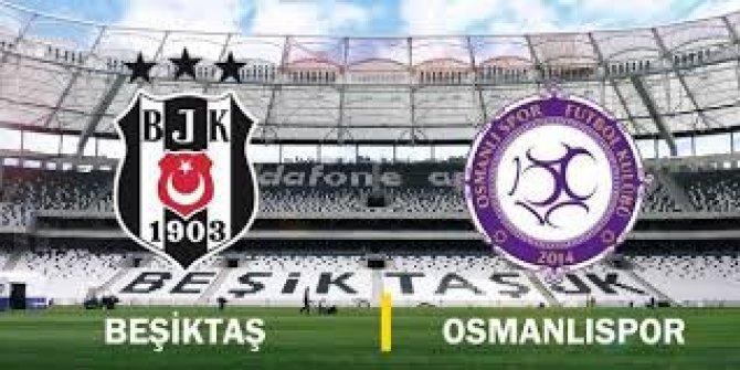 Beşiktaş, Osmanlıspor maçı hazırlıklarını sürdürdü