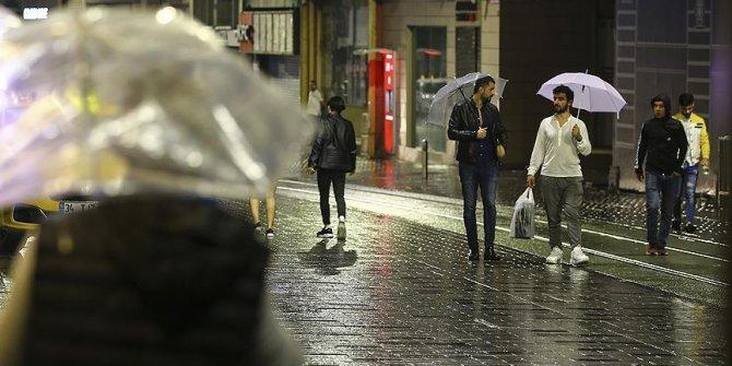 Marmara Bölgesi'ne sağanak yağış uyarısı