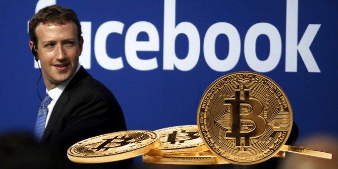 Veri skandalı sonrası hisseleri düşen Facebook Bitcoin'e el attı