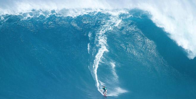 Güney Yarım Küre'nin en büyük dalga boyu ölçüldü