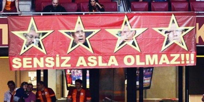 Galatasaray taraftarından Aziz Yıldırım'a şok