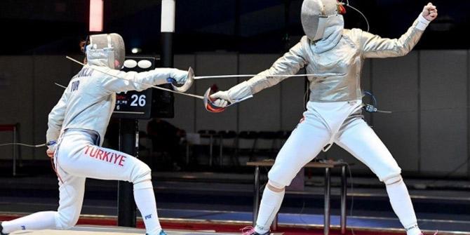 Eskrimde Türkiye altın madalya kazandı