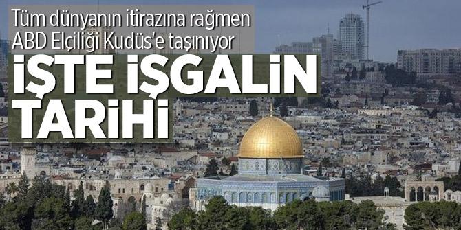 Tüm dünyanın itirazına rağmen ABD Elçiliği Kudüs'e taşınıyor