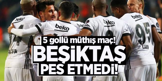 Beşiktaş pes etmedi! Yarışa devam ediyor