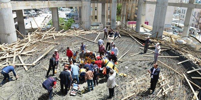 Şanlıurfa'da cami inşaatında göçük: 6 yaralı